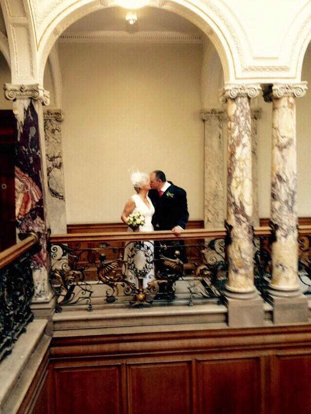 A warm congratulations to Tracey and Archie Roxburgh, the Directors of Urbane Art Gallery on their wedding.