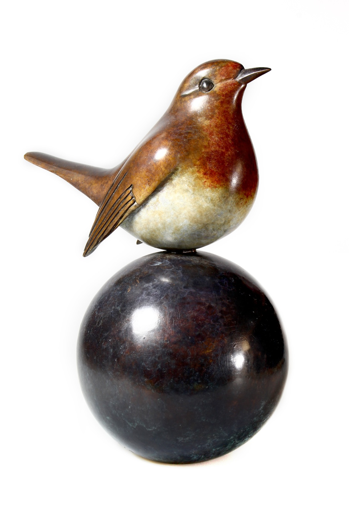 After finishing his degree in Salisbury, English sculptor Matt Duke has spent the last twenty years working with bronze; creating the exquisite shapes and vivid patinas that can be seen in his work today.