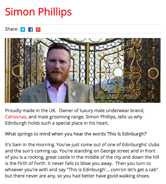 This Is Edinburgh: Simon Philips