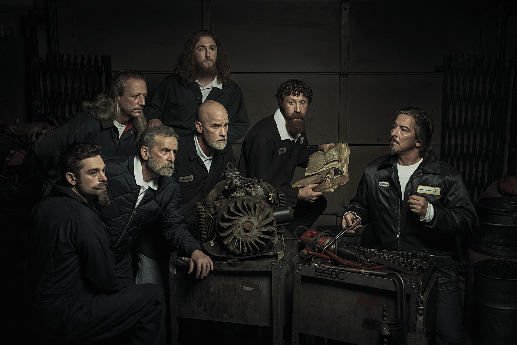 Renaissance Series - The Anatomy Lesson Fine art photograph