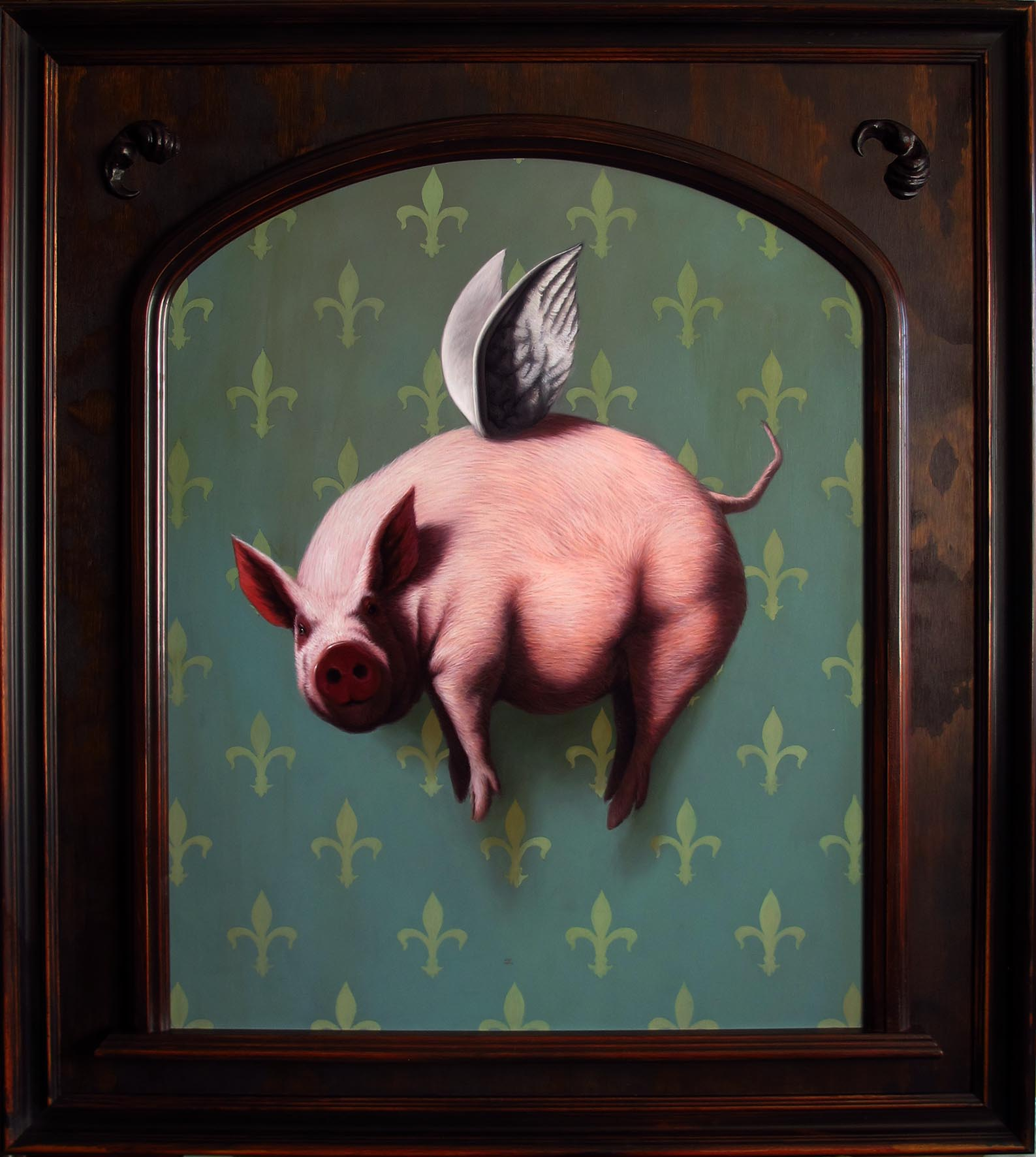 Flying Pig By Daniel Sueiras Fanjul images/Urbane Art Gallery Flying Pig By Daniel Sueiras Fanjul.jpg