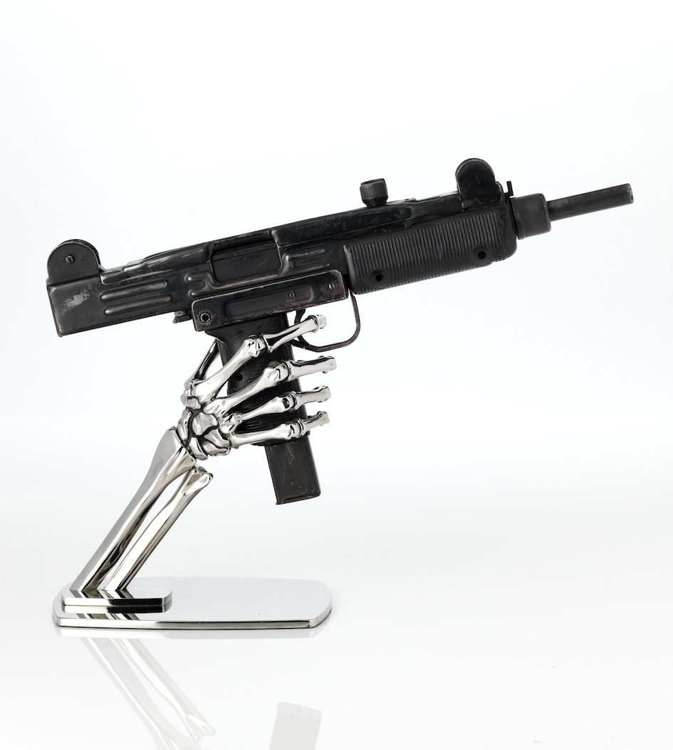 Surgical grade stainless steel (Act 22) Uzi 9mm decommissioned submachine gun