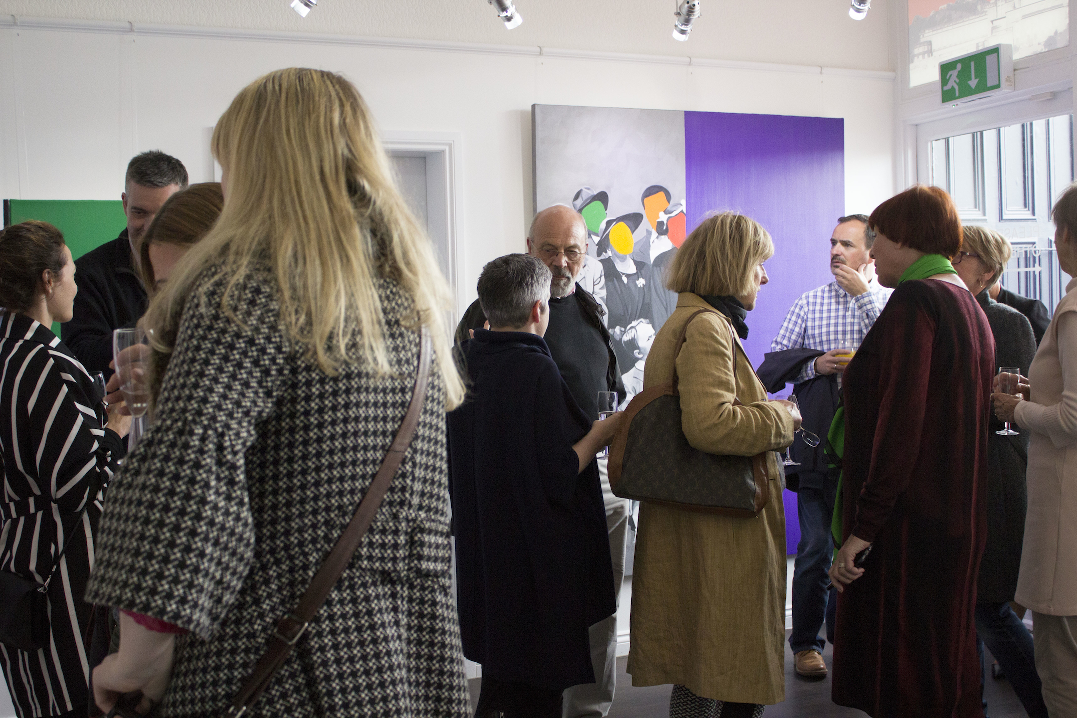 Thank you to everyone who attended Clare Andrews' exhibition opening. The event was a great success!