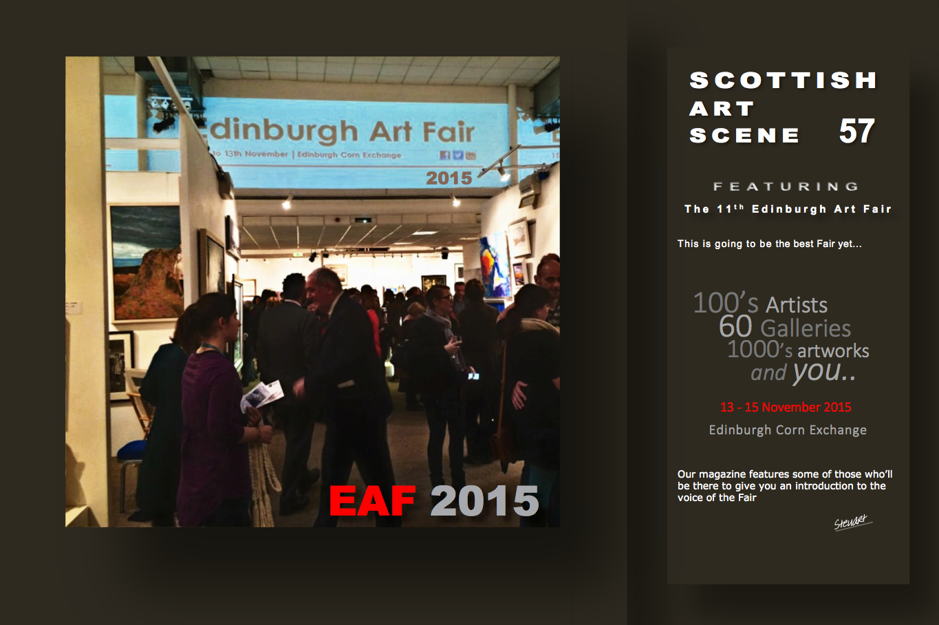Scottish Art Scene: Edinburgh Art Fair